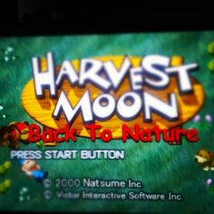 Something we loved from Instagram! Time to #play  #harvestmoonbacktonature #harvestmoon for #psx #playstation on #Raspberrypi #retropie with my #daughter by olapaulakoski Check us out http://bit.ly/1KyLetq
