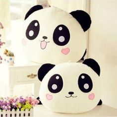 "8"" Cute Soft Plush Doll Toy Stuffed Animal Panda Pillow Quality Bolster Gift  #UnbrandedGeneric"