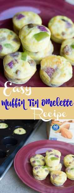 These muffin tin eggs are absolutely PERFECT for breakfast. You can freeze them for later, or bake up a big bunch for parties. They are…