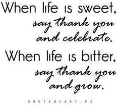 Gratitude quote via www.quotediary.me