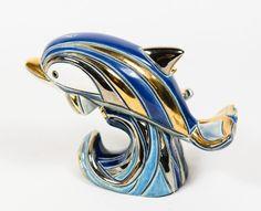 Artesania De Rosa Rinconada #782 Dolphin with Baby Retired Ceramic Figurine * | eBay