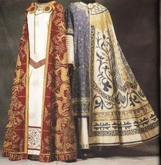 Clothing of the Byzantine (Eastern Roman) Empire, c. ...