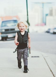 ★ Rock 'n' Roll Style ★ from Aven clothing, little rocker on the run  http://www.creativeboysclub.com/