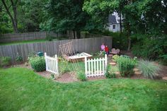 """I have a corner of my yard this would be perfect for!  I might make it a """"big kids"""" play area too and put in a fire pit."""