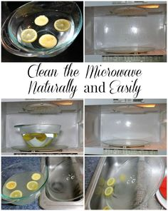 Clean the Microwave Easily and Naturally - Real: The Kitchen and Beyond
