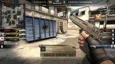 Moje strzelanie z Desert Eagle CS:GO