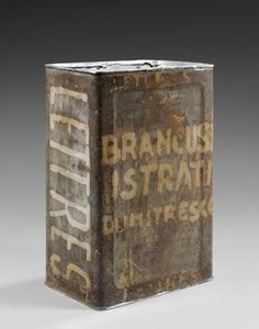Brâncuşi's mail box, made by the artis