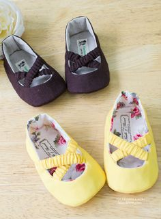 Baby Ballet Shoes PDF Pattern
