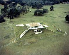 William Morgan | Casa en la cumbre de la colina | Hilltop House|  Florida, USA | 1972-75