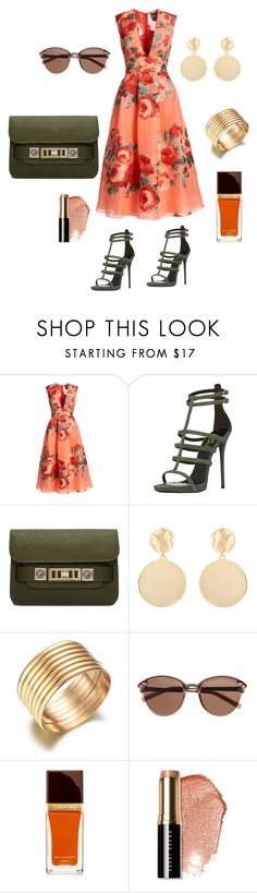 """""""Untitled #858"""" by stylemirror ❤ liked on Polyvore featuring Lela Rose, Proenza Schouler, Mounser, Witchery, Tom Ford and Bobbi Brown Cosmetics"""