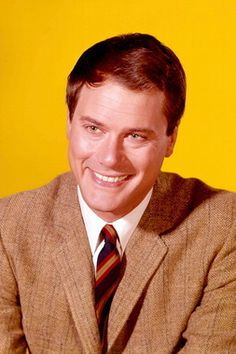"""Larry Hagman, actor, best known as Major Anthony Nelson  in """"I Dream of"""" Jeannie and JR in the series """"Dallas"""""""