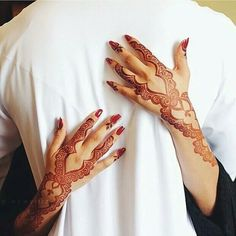 henna, couple, and muslim image Henna Hand Designs, Beautiful Henna Designs, Beautiful Mehndi, Latest Mehndi Designs, Mehndi Designs For Hands, Henna Tattoo Designs, Mehndi Tattoo, Mehndi Art, Henna Mehndi