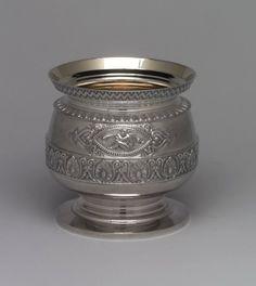 Slop Bowl - Silver 1875. Philadelphia, Pennsylvania, United States