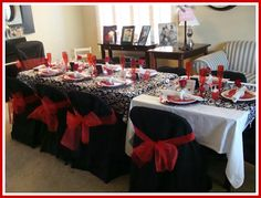 Fun adult Valentine's party.