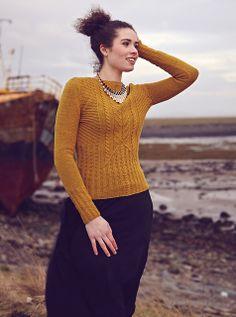 Ravelry: Wheatcrop Jumper pattern by Ruth Garcia-Alcantud