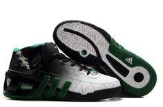 f27486c0c932 Adidas shoes NBA Kevin Garnett VI Basketball shoes Black White For Wholesale