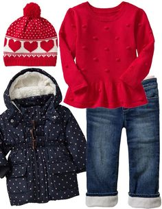Cozy Winter Outfit | Toddler Girl | @Gap @Old Navy