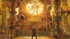 HD Steampunk Gears Wallpaper For Background, Lacie Siegmund 24 fantasy art, Futuristic, Steampunk Ville Steampunk, Steampunk Kunst, Steampunk City, Steampunk Interior, Steampunk Design, Steampunk Wallpaper, Steampunk Artwork, Diesel Punk, Fantasy Kunst