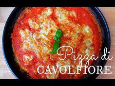 Pizza di cavolfiore - Ricetta senza glutine - YouTube