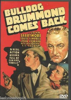 Bulldog Drummond Comes Back DVD 2003 John Barrymore Director Louis King | eBay