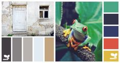 baby boy nursery colors | neutrals and grays with pops of blue, green, orange and yellow | modern, indie, whimsical inspiration from www.yayforhandmade.com