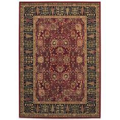 Couristan® Cypress Garden Rugs in Persian Red - BedBathandBeyond.com