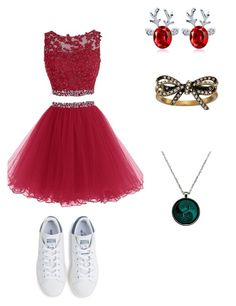 """#MerryChistmas"" by karen-beatriz on Polyvore featuring moda, adidas e Marc Jacobs"