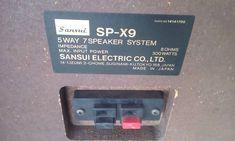 SANSUI SP-X9