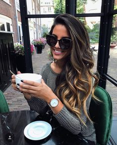 Fall Hair Color Trends & Styles – Home, Fashion & Beauty Ombre Hair, Balayage Hair, Bayalage, Coiffure Hair, Brunette Hair, Great Hair, Gorgeous Hair, Hair Looks, New Hair