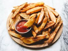 This easy and foolproof method will get you the PERFECT Oven Baked Fries, every single time. All you need are some Spuds, Seasonings, and 35 minutes!
