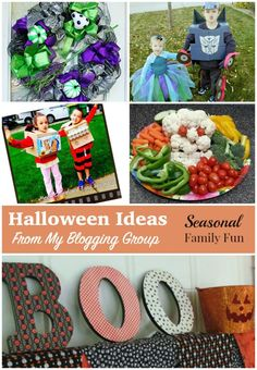 Halloween Ideas From My Blogging Group #halloween #recipes #crafts #DIY