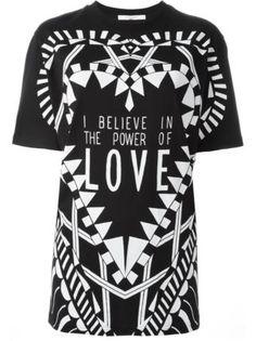 Givenchy I Believe In The Power Of Love T-shirt - Julian Fashion - Farfetch.com