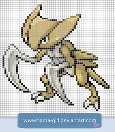 Kabutops by Hama-Girl.deviantart.com on @deviantART