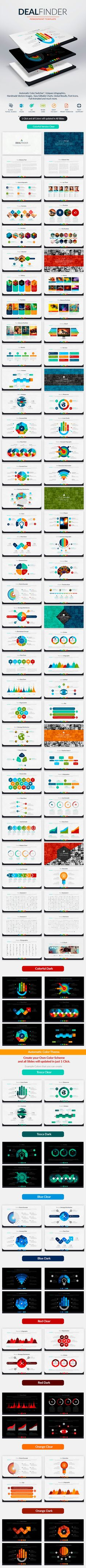 Deal Finder - Powerpoint Template. Download here: http://graphicriver.net/item/deal-finder-powerpoint-template/14930669?ref=ksioks