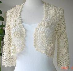 lovely crochet shrug