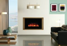 Fireplace World Glasgow, Scotland has a wide range of traditional, contemporary and custom built bespoke design electric fires.
