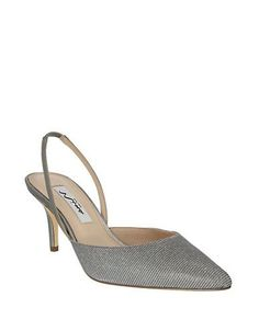 Brands | Party & Evening | Terri Metallic Slingbacks | Lord and Taylor