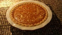 Pumkin Pie swirled with coconut white chocolate.