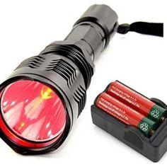 Flashlights and Lamps Archives - Kokania - A Fashion Brand Long Range Hunting, Hog Hunting, Red Light Flashlight, Led Flashlight, Red Beam, Camping Lights, Portable, Night Vision, Lamp Light