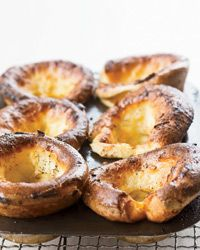 Orange Popovers  Grace Parisi loves popovers, but baking them can be tricky: They don't always rise as they should. For these foolproof ones, Grace adds a bit of baking powder to the batter and chooses to use a regular (not nonstick) muffin tin.