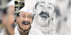 Olimpo López, el creador de la receta del Chocoramo.