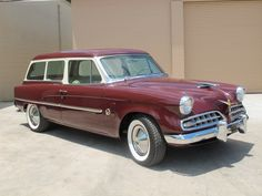 '54 Studebaker Conestoga Wagon.  My parents had this in this same color!