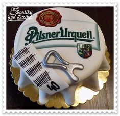 Birthday party for men :: Cakes from Lucík – Cake Types Budweiser Cake, Sweet Recipes, Cake Recipes, Types Of Cakes, Cakes For Men, Dream Cake, Pastry Shop, Mini Cheesecakes, Book Making