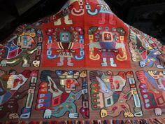 Incredible Huge Vintage Tribal Hand Woven Textile/Wall Hanging #HandWoven