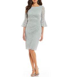 0aa4e1cba20 Shop for Jessica Howard Lace Bell Sleeve Dress at Dillards.com. Visit  Dillards.