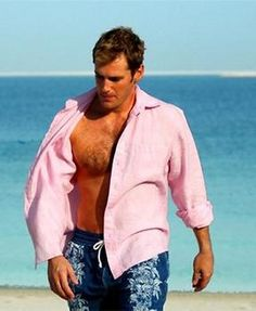 Can men wear pink? Hell yes!