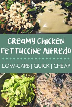 A quick and easy dinner recipe for those who are low-carb/keto/paleo - or not! Can be adapted to vegetarian, or made into a casserole - all in under an hour!! #low-carb #LCHF #recipe #quickdinner