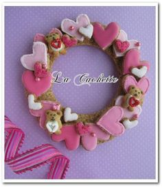 Heart lease cookie