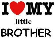 Brother And Sister Quotes Siblings   love my little brother - Images and e-cards