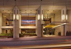 Grand Hyatt, San Francisco, CA. Renovation with Gensler Architects. (Photo: Paul Dyer Photography) #GrandHyattSF #hotels #interiors #lighting
